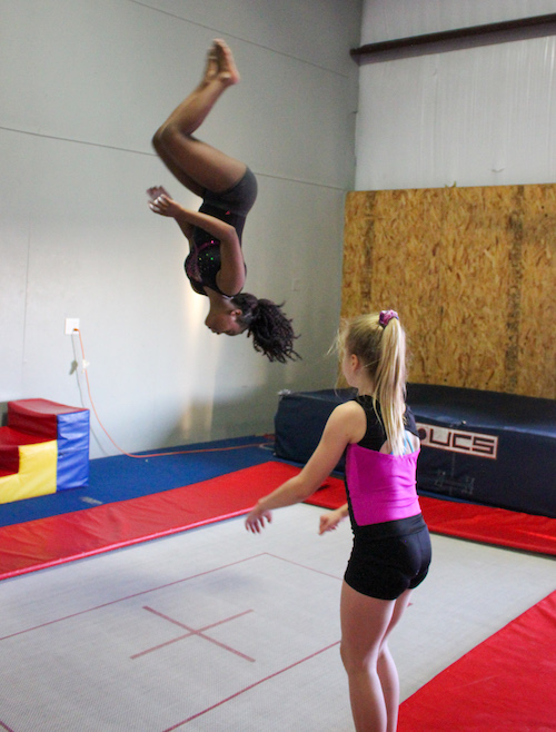 aflipzone.com - girl doing gymnastics